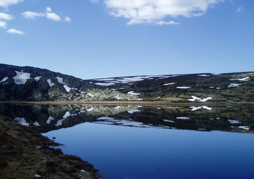 foto lago deshielo